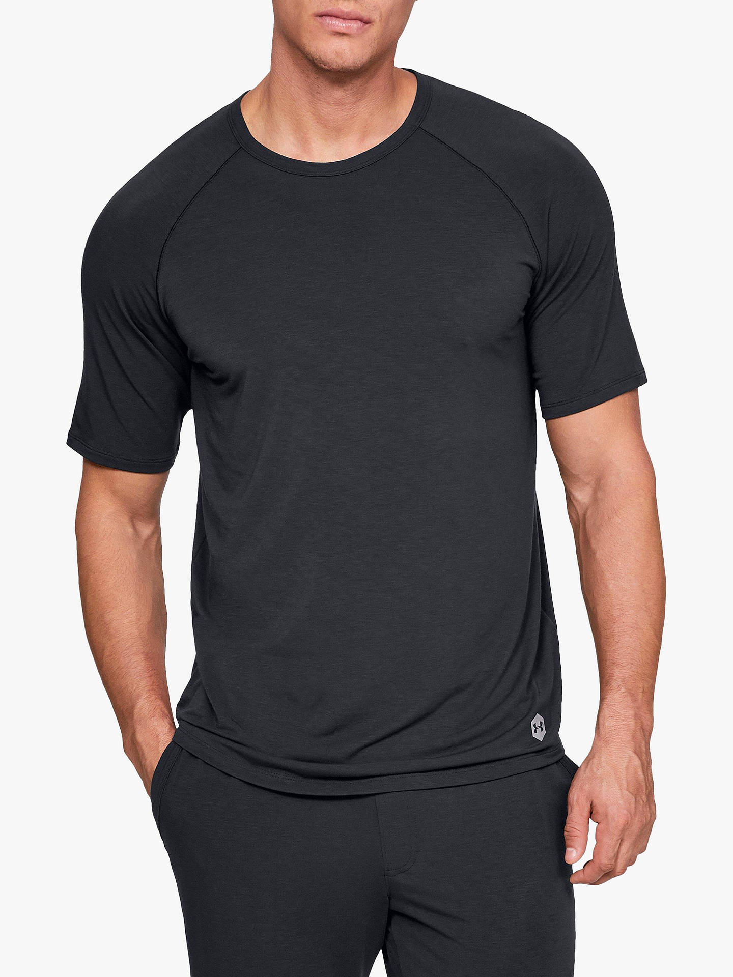 218070ee14 Under Armour Athlete Recovery Sleepwear T-Shirt, Black
