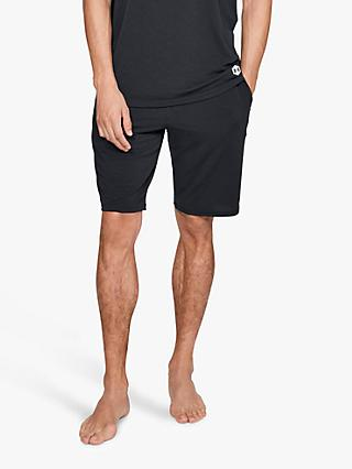 Under Armour Athlete Recovery Sleepwear Shorts, Black