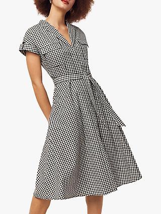 147cc4c0e4e97c Oasis Gingham Shirt Dress