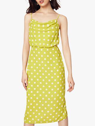 c54ab6939edb Oasis Spot Cowl Neck Midi Dress