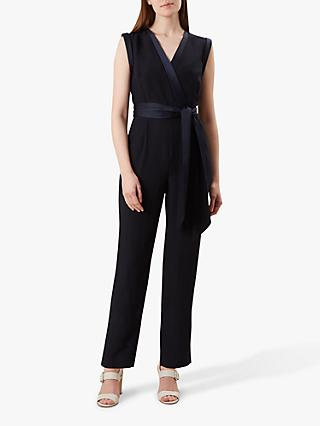 Hobbs Tillie Sleeveless Jumpsuit, Navy