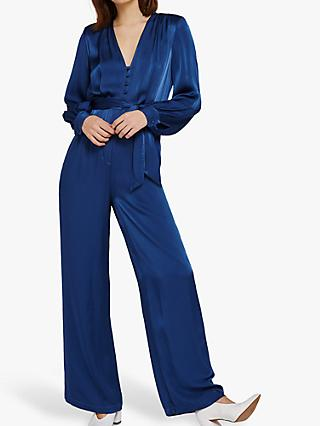 Ghost Poppy Jumpsuit, Airforce Blue