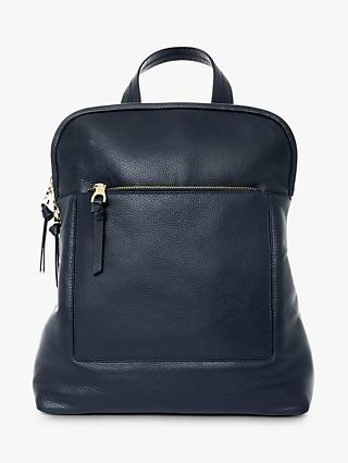 c22c15f830a9 Jaeger Oxford Leather Backpack
