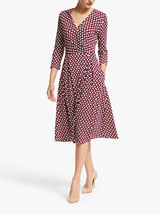 Weekend MaxMara Acca Jersey Wrap Dress, Brick
