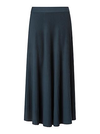 58b51cd1fb Weekend MaxMara Ariano Pleated Skirt, Ultra Marine