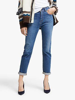 Weekend MaxMara Linda Straight Leg Jeans, Ultramarine