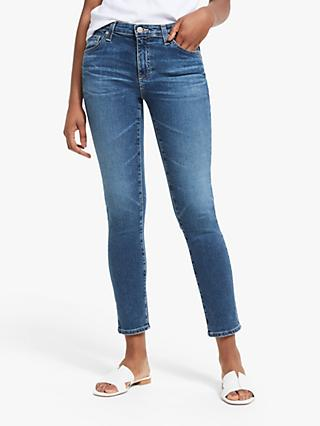 AG The Mari Straight Slim Leg Jeans, 12 Years Fluid