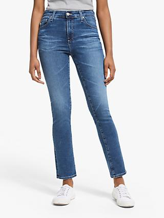 AG The Prima Mid Rise Skinny Ankle Jeans, 12 Years Fluid