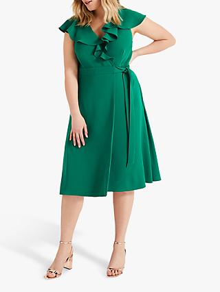Studio 8 Rachel Wrap Dress, Green