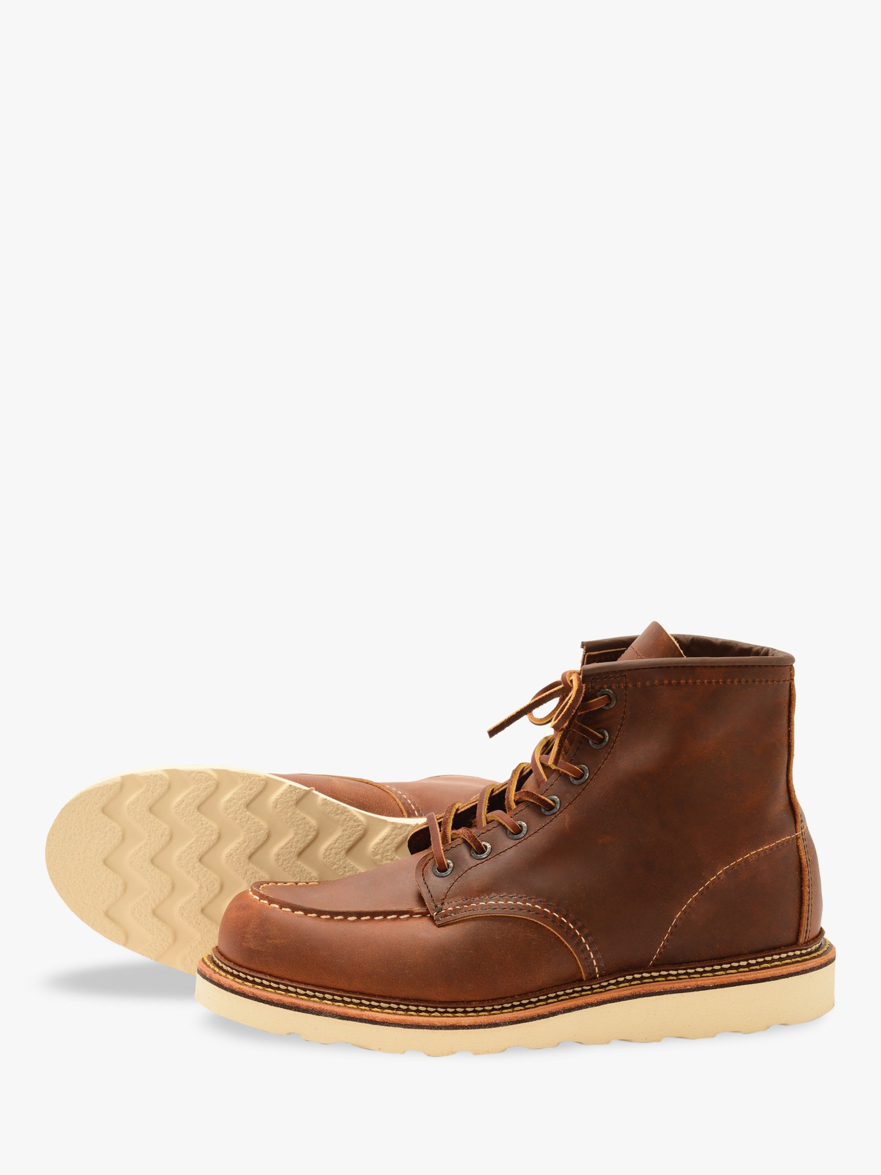 Red Wing Red Wing 1907 Classic Moc Toe Boots, Copper