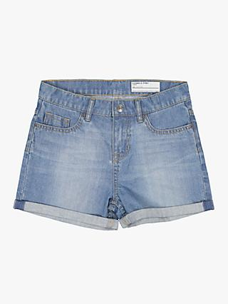 Polarn O. Pyret Children's Denim Shorts, Blue
