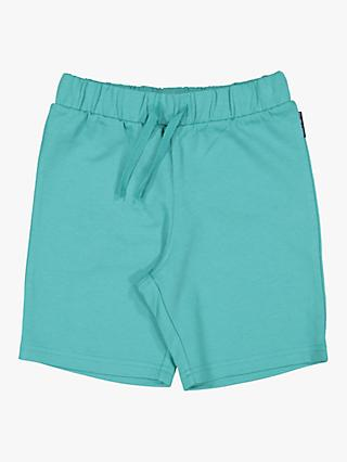 Polarn O. Pyret Children's Sweat Shorts, Teal Green