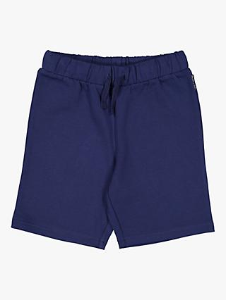 Polarn O. Pyret Children's Sweat Shorts, Navy