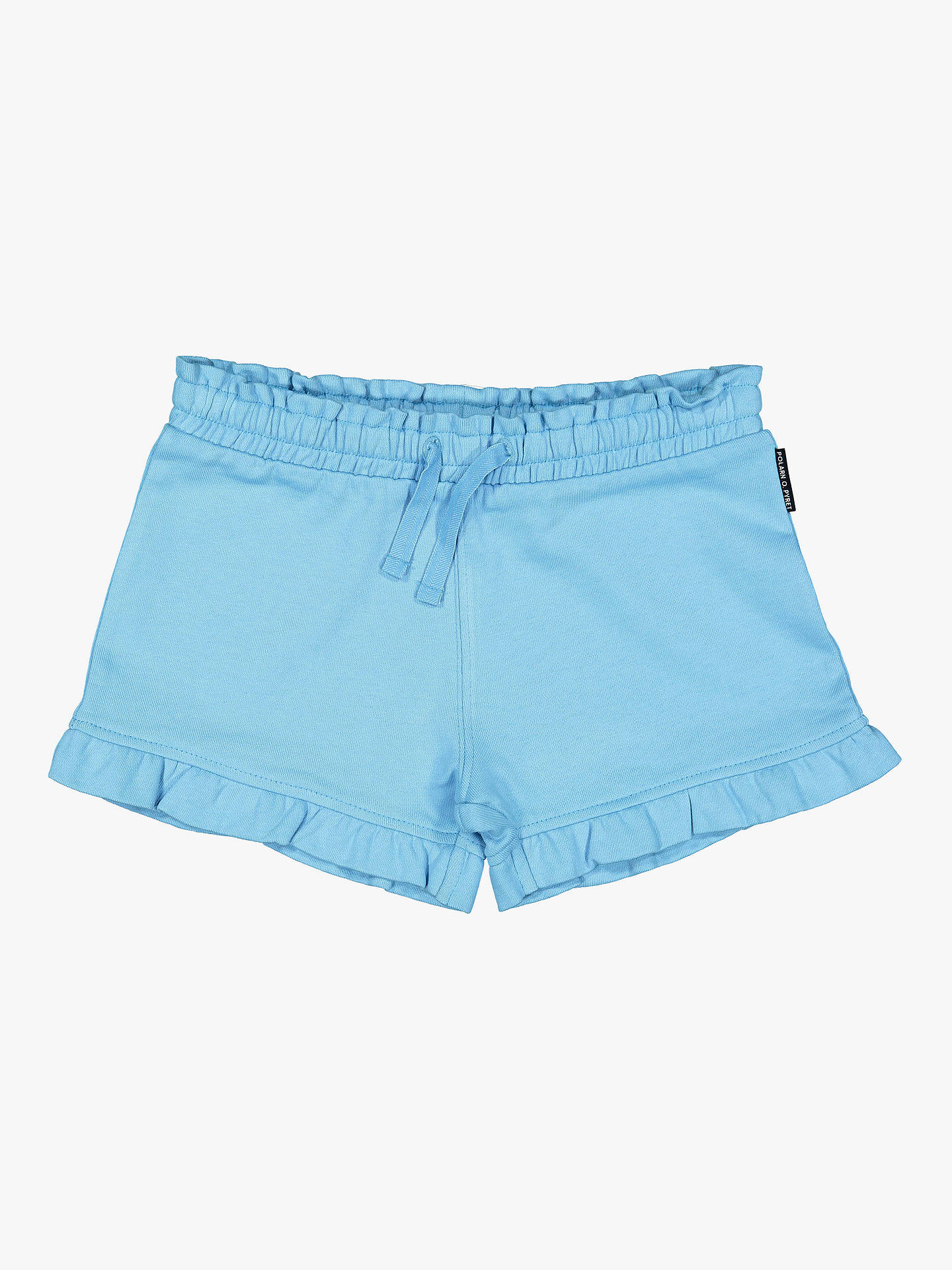 a6f45ee12e00 Buy Polarn O. Pyret Children's Frill Shorts, Blue, 12-18 months Online
