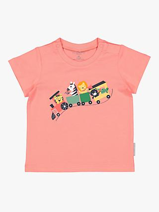 99903983d4b Polarn O. Pyret Animal Train Graphic T-Shirt