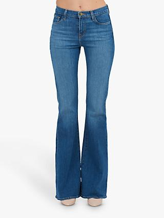 917c4a08 J Brand Valentina High Rise Flare Jeans, Endeavor