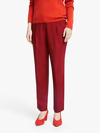 John Lewis & Partners Twill Peg Trousers