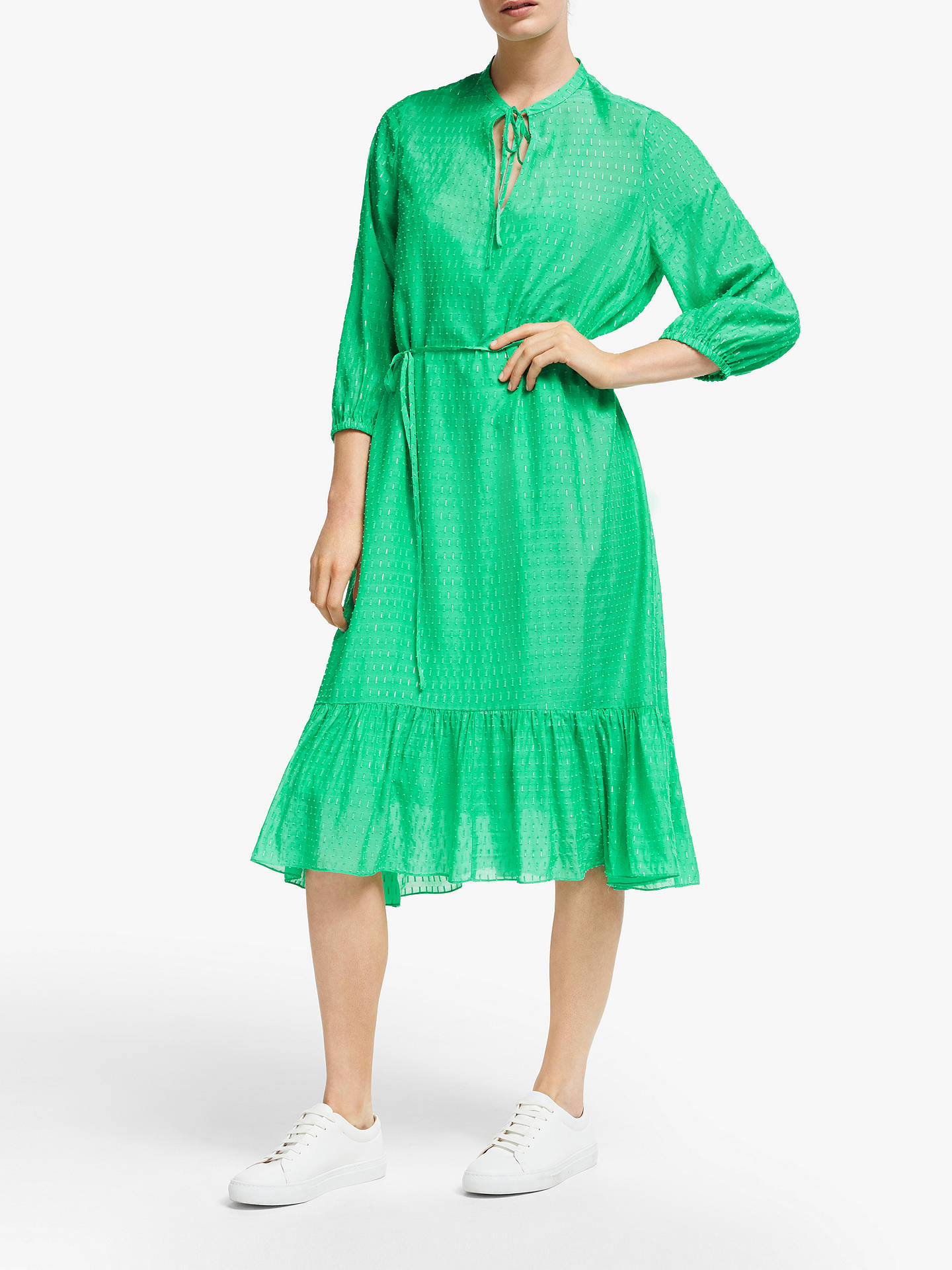 Buy Second Female Reve Midi Dress, Blarney, S Online at johnlewis.com