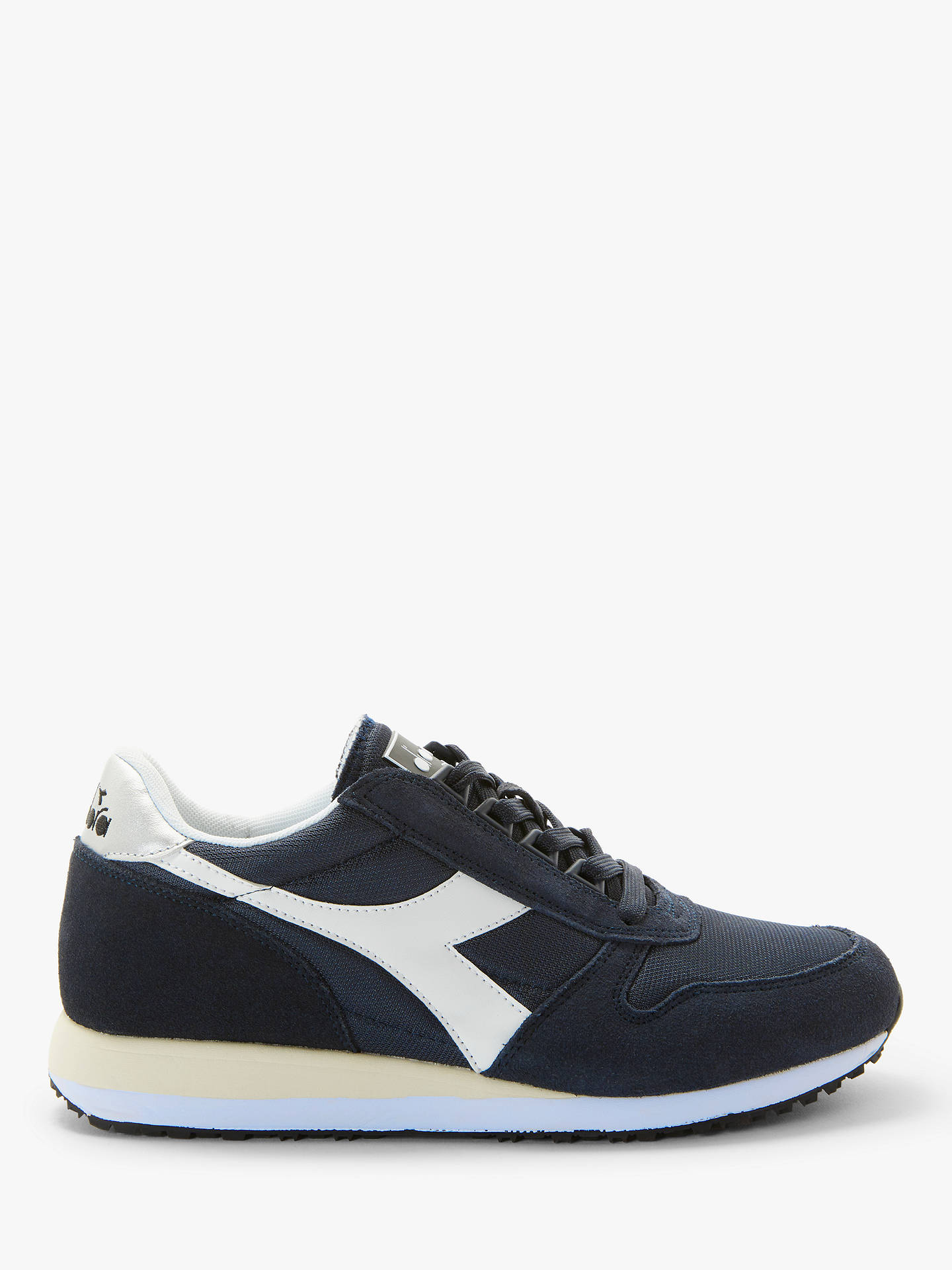 12fc383fd5 Diadora Caiman Trainers, Blue Denim