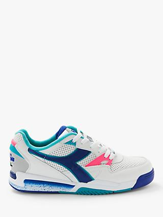 Diadora Rebound Ace Leather Trainers, White
