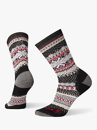 SmartWool Premium CHUP Hansker Men's Crew Hiking Socks, Black