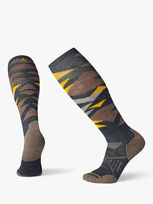 Buy SmartWool PhD Light Pattern Men's Ski Socks, Everglade, M Online at johnlewis.com