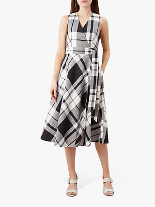 Hobbs Esther Dress, Black/White