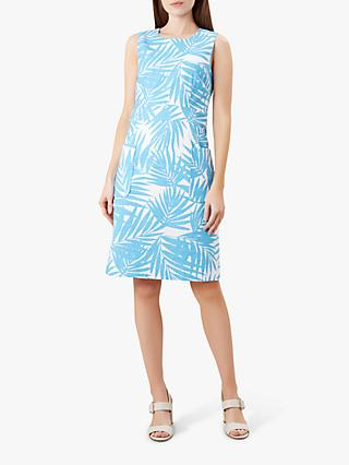 Hobbs Allison Dress, Bright Aqua