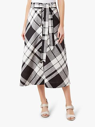 Hobbs Lucia Skirt, Black/White