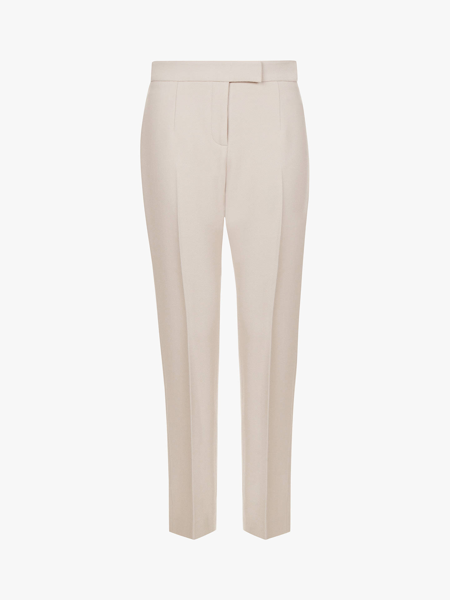 Buy Hobbs Viviene Tailored Trousers, Neutral, 6 Online at johnlewis.com