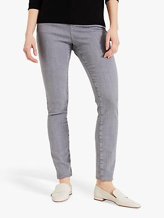 Phase Eight Aida Cotton-Blend Jeans, Grey