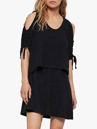 AllSaints Harper Tee Dress, Black