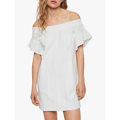 Image of AllSaints Adela Adi Dress, Chalk White