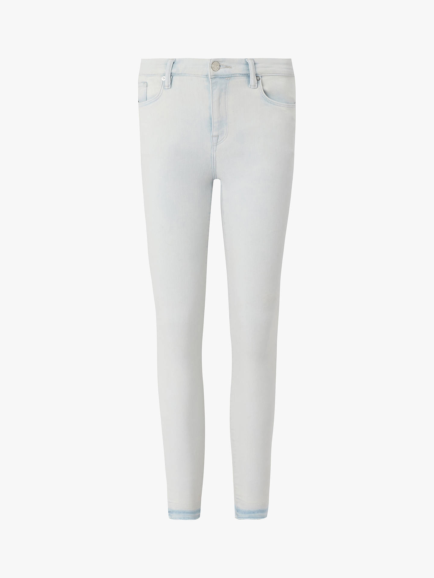 Buy AllSaints Grace Cropped Skinny Jeans, Bleach Indigo Blue, 29 Online at johnlewis.com