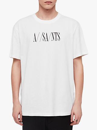a4078c1e1fb7 AllSaints Dash Logo Crew T-Shirt