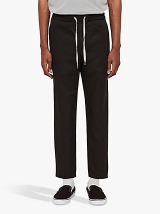 AllSaints Luckett Slim Fit Trousers, Washed Black