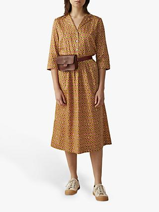 Toast Paisley Print Shirt Dress