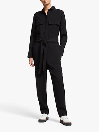 Kin Formal Utility Jumpsuit, Black