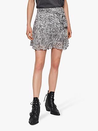 82fe66202d8 AllSaints Frida Zed Mini Skirt