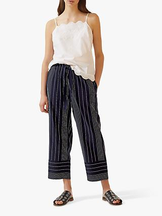 4b0863778b98 Jigsaw Stitch Stripe Beach Trousers