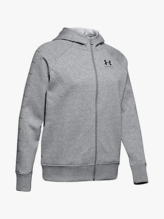 Under Armour Rival Fleece Sportstyle Full Zip Training Hoodie
