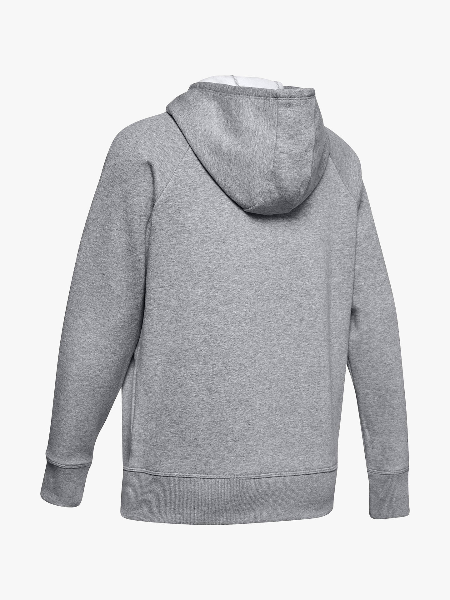 93755a421 ... Buy Under Armour Rival Fleece Sportstyle Full Zip Training Hoodie,  Steel, XS Online at