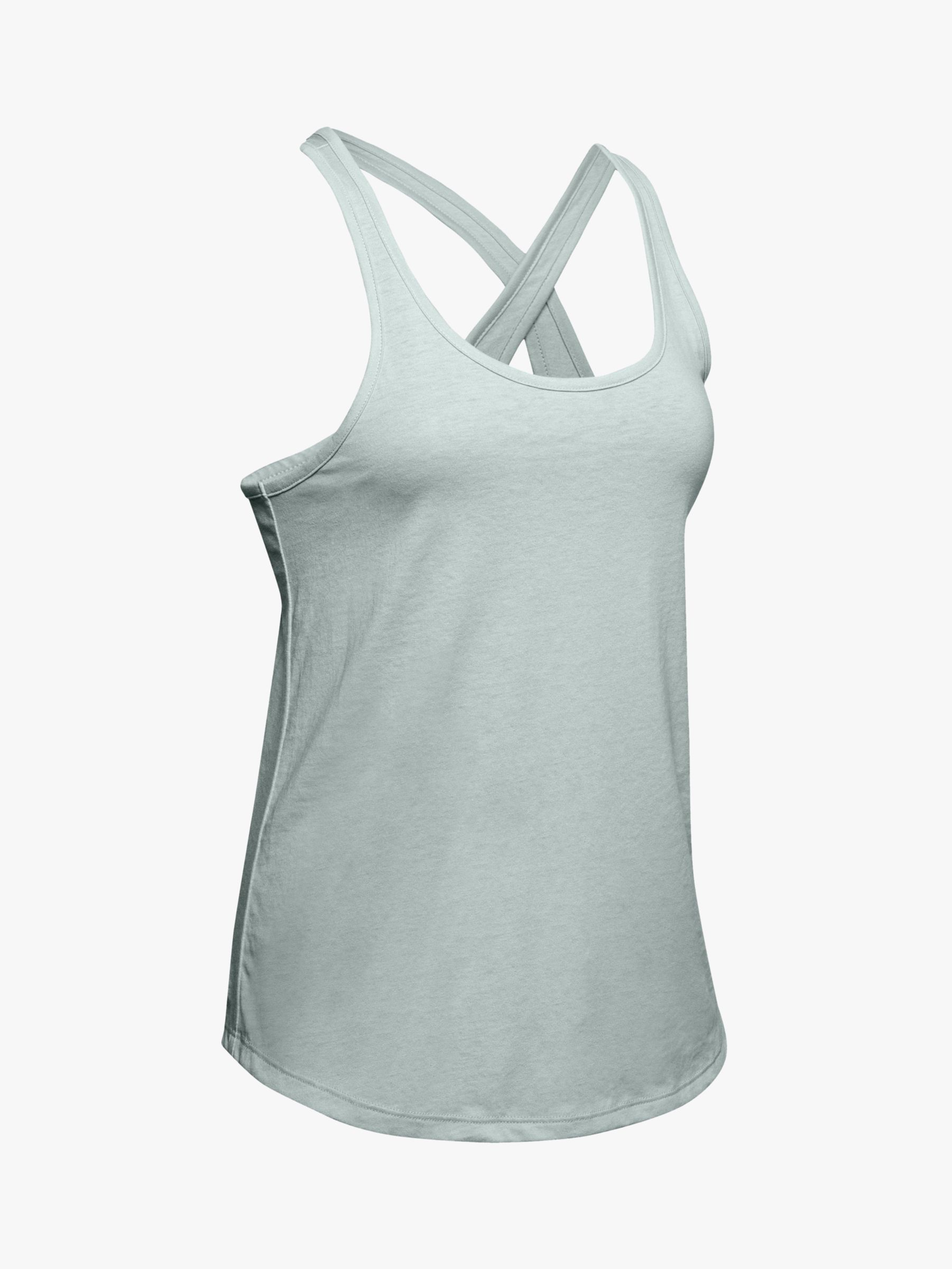Under Armour Under Armour Crossback Training Tank Top, Atlas Green/Tonal