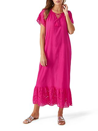 Pure Collection Cotton Maxi Dress