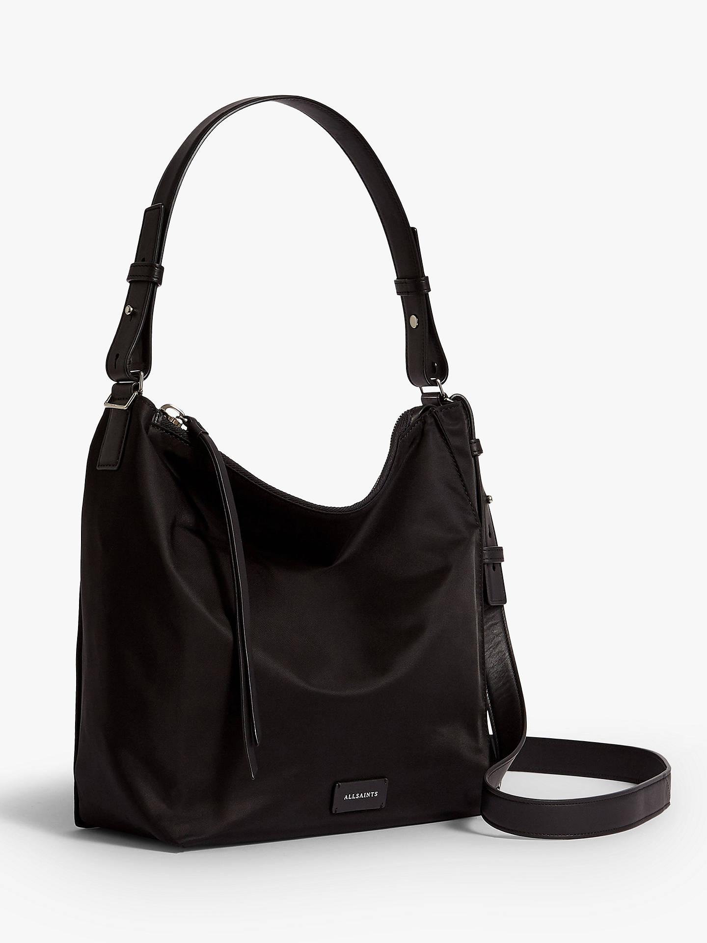 c039ea6a73 ... Buy AllSaints Nilo Kita Crossbody Bag, Black Online at johnlewis.com ...