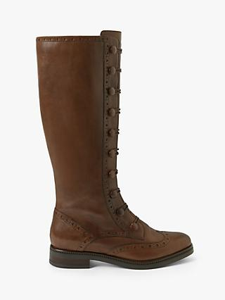 John Lewis & Partners Sabrina Leather Riding Boots