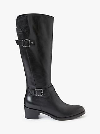 John Lewis & Partners Sammie Leather Riding Boots