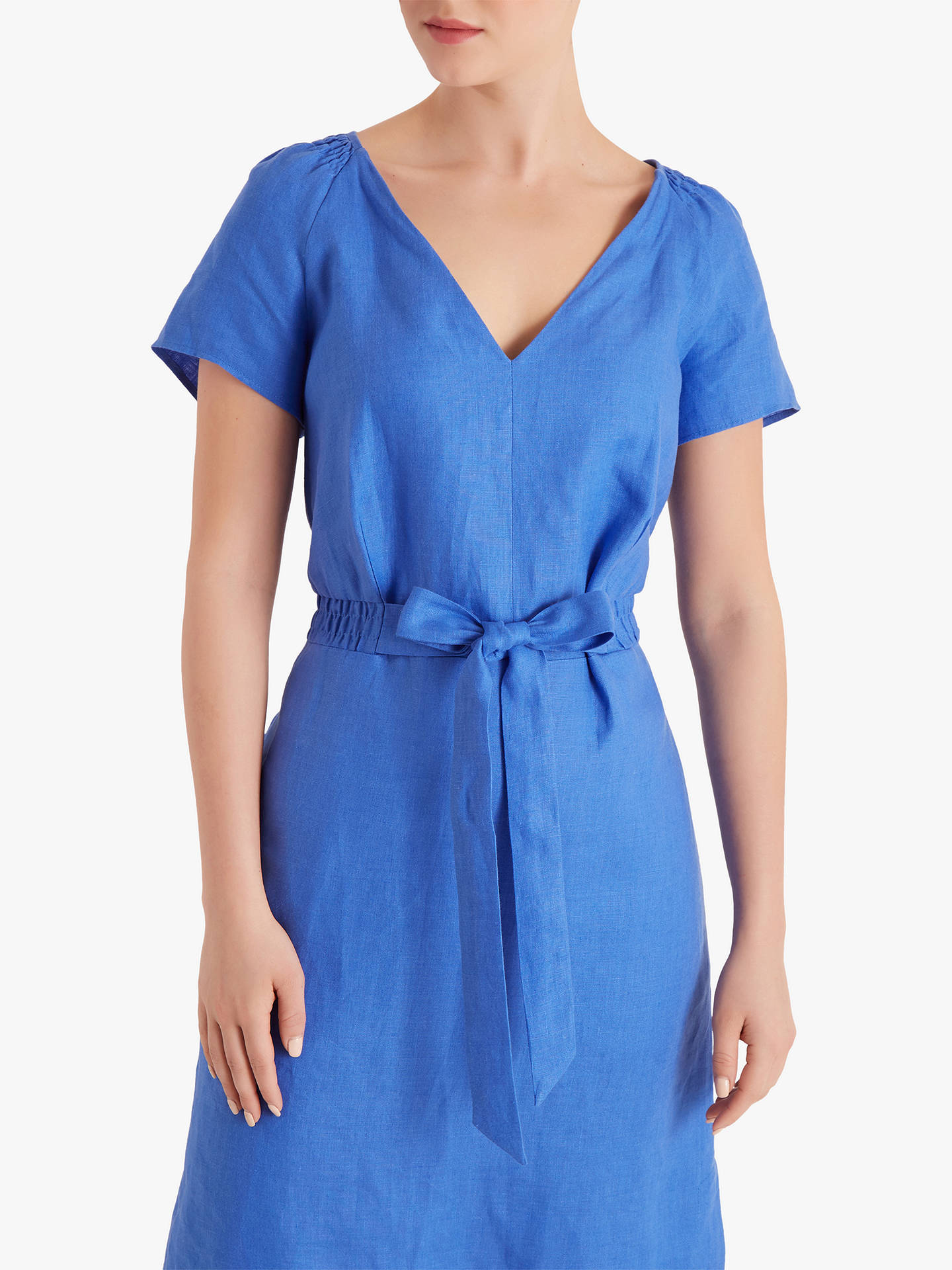 Buy Fenn Wright Manson Petite Stacey Dress, Blue, 14 Online at johnlewis.com
