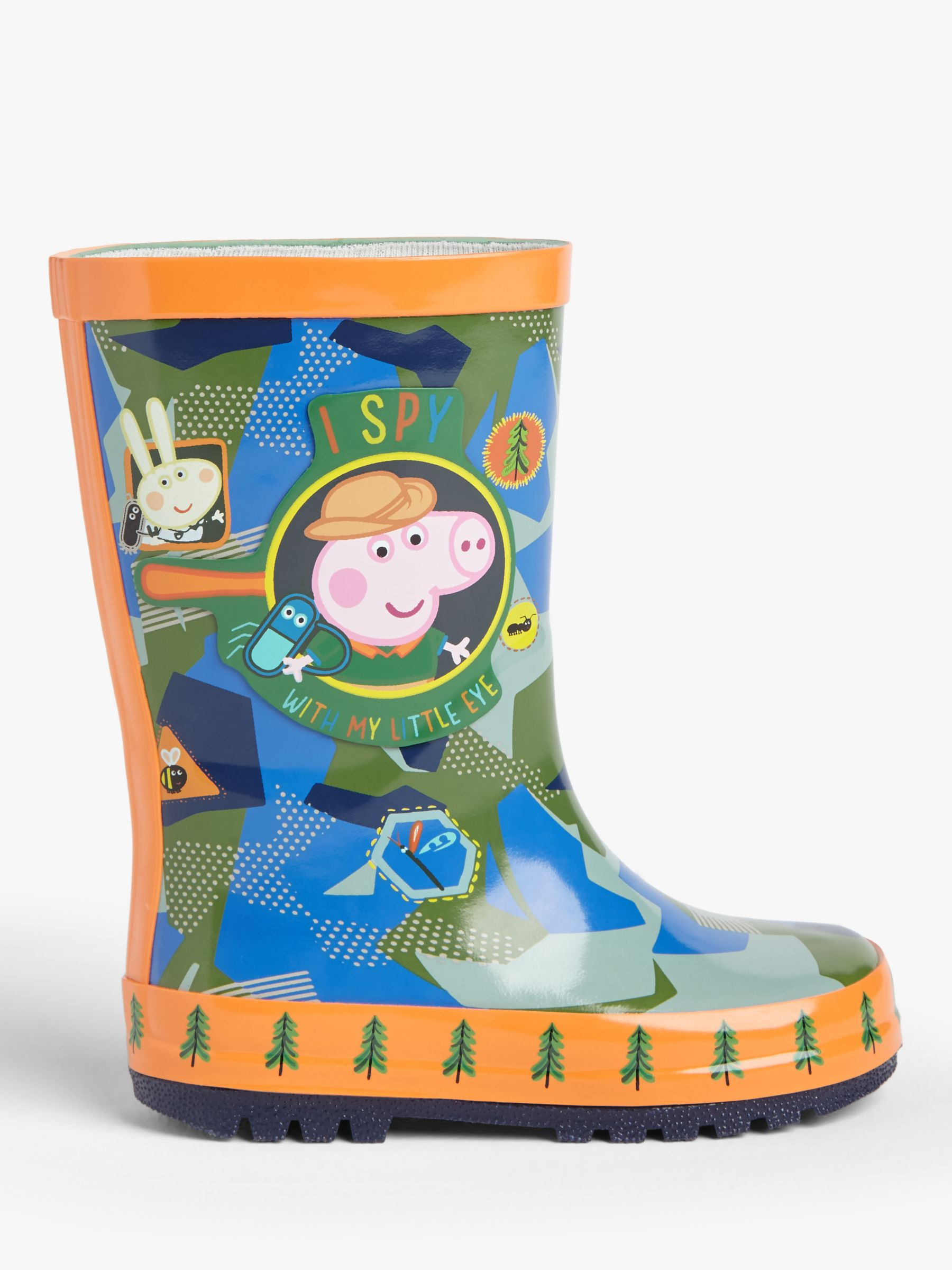 Peppa Pig Peppa Pig Children's I Spy George Wellington Boots, Multi