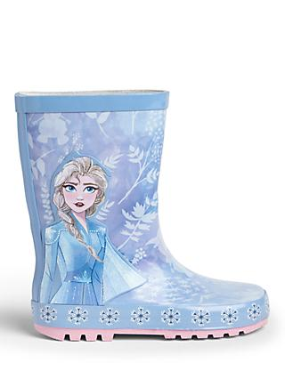 Frozen II Children's Elsa Wellington Boots, Blue